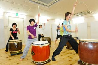 和太鼓スクール「タイコラボ練馬」さんの練習が迫力満点!