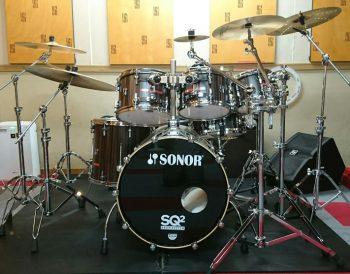 Cスタジオのドラムセットが新しくなりました。