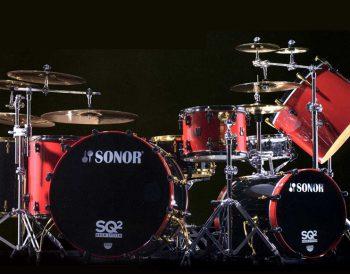 SONOR SQ2ドラムセット常設