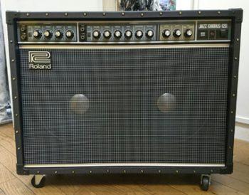 Aスタジオのギターアンプが新しくなりました